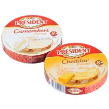 President Topljeni sir Cheddar/Camembert 140 g