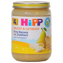 Hipp Kašica kruška i banana s dvopekom bio 190 g