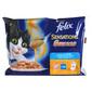 Felix Sensation Sauces Hrana za mačke riblji meni 4x100 g