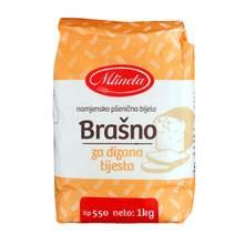 Mlineta pšenično namjensko brašno za dizana tijesta 1 kg