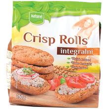 Naturel Crisp Rolls Integralni dvopek 250 g