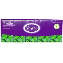 Violeta Papirnate maramice menthol 3 sloja 10/1