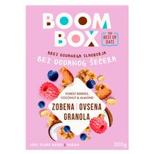 Boom Box Zobena granola sa šumskim voćem, kokosom i bademima 300 g