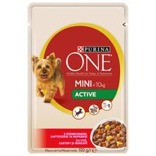 Purina One Mini Active Hrana za pse govedina,krumpir i mrkva 100 g