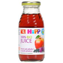 Hipp BIO Voćni sok od jabuke i crvenih plodova 200 ml