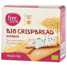 Free Zone Hrskave pločice kvinoja eko 150 g
